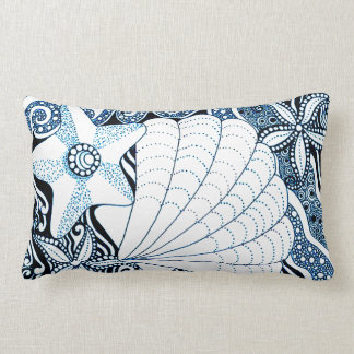 Seashells Lumbar Pillow