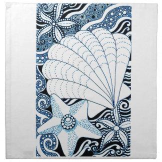 Seashells Napkin
