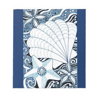 Seashells Notepads