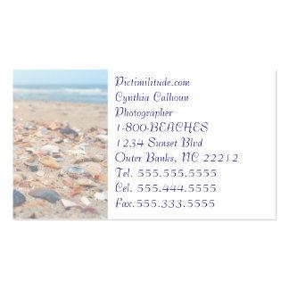 Seashells on the Beach Business Card Business Cards
