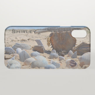 Seashells on the Beach by Shirley Taylor iPhone X Case