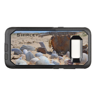 Seashells on the Beach by Shirley Taylor OtterBox Commuter Samsung Galaxy S8 Case