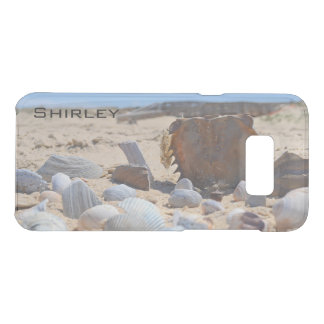 Seashells on the Beach by Shirley Taylor Uncommon Samsung Galaxy S8 Plus Case