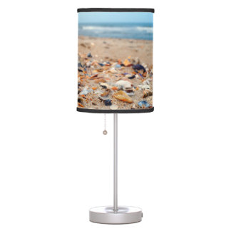 Seashells on the Beach Lamp