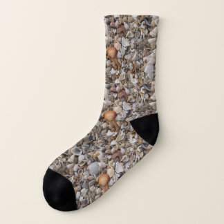Seashells on the Sea Shore Socks