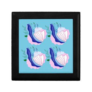 Seashells original hand painted art gift box