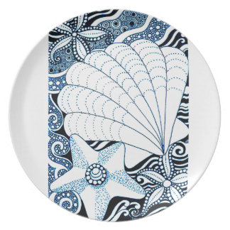 Seashells Plate