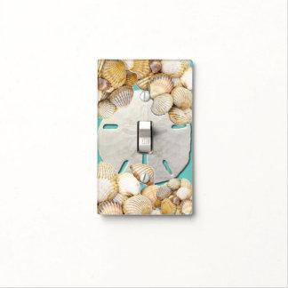 Seashells, Sand dollar, Nautical Light Switch Cover
