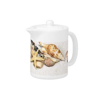 Seashells Tea Pot