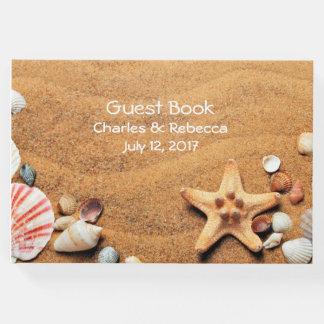 Seashells Wedding Guest Book