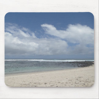 seashore and clouds of the Galapagos Mouse Pad