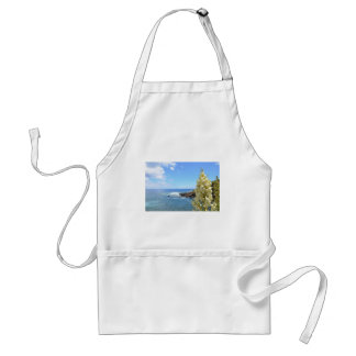 Seashore and Yucca Flowers In Bloom Standard Apron