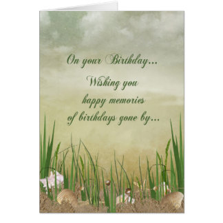 Seashore Birthday Card
