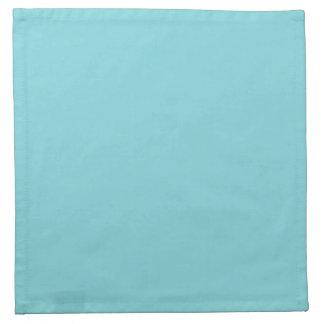 Seashore Blue Personalized Aqua Teal Background Napkins