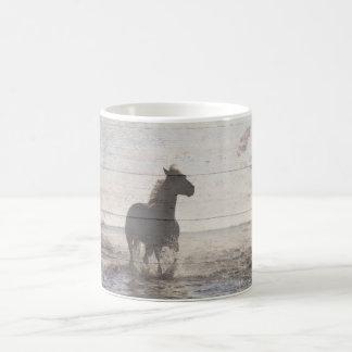 Seashore horse mug