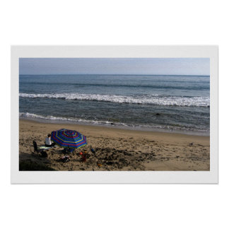 Seashore in Autumn 24 x 16 poster