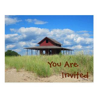 Seashore Invitation Postcard