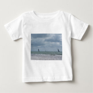 Seashore of beach during regatta at summer baby T-Shirt