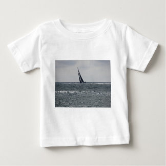 Seashore of beach during regatta baby T-Shirt