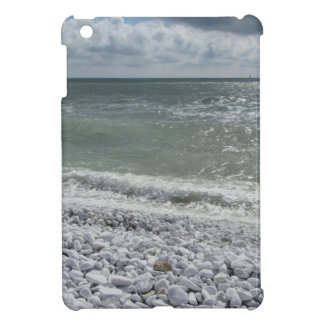 Seashore of beach in a cloudy day at summer cover for the iPad mini