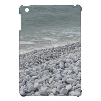 Seashore of beach in a cloudy day at summer iPad mini cover