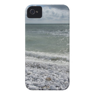 Seashore of beach in a cloudy day at summer iPhone 4 Case-Mate cases