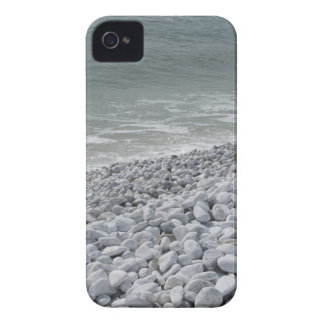 Seashore of beach in a cloudy day at summer iPhone 4 cover