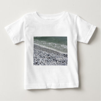 Seashore of Marina di Pisa beach in a cloudy day Baby T-Shirt