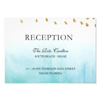 Seashore - Reception Card