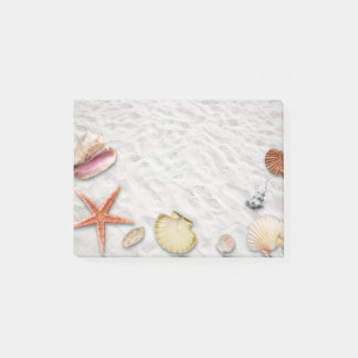 Seashore Seashells Post-It Notes