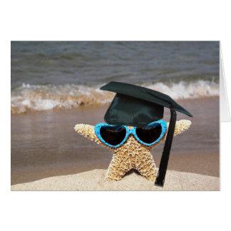 Seashore Starfish graduate Card