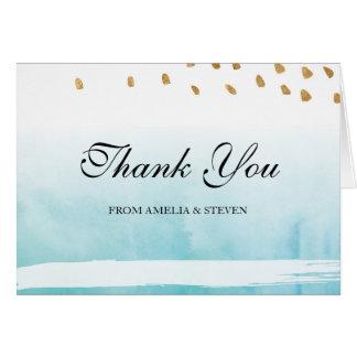 Seashore - Thank You Card