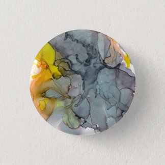 Seaside abstract 1 inch round button
