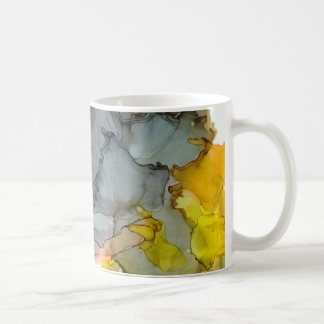 Seaside Abstract Ink Mug