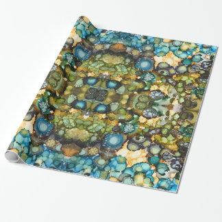 SeaSide Abstract Wrapping Paper