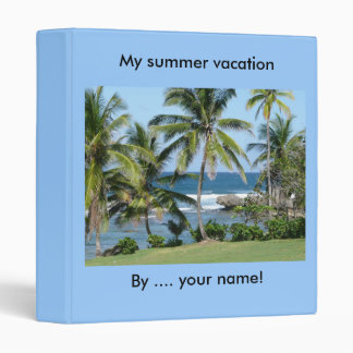 Seaside beach binder