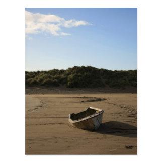 Seaside Boat Postcard