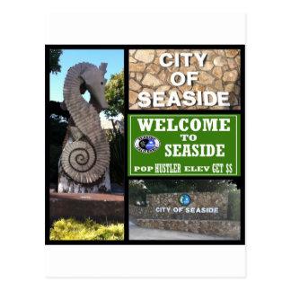 Seaside,Ca -- T-Shirt Postcard
