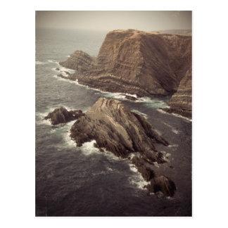 Seaside Cape Vintage Postcard