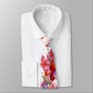 Seaside Collection Pink Purple Tie