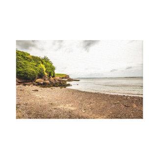 """Seaside cove"" Ireland canvas prints/wall art"