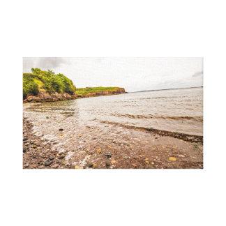 """Seaside cove"" wall art/postcards Canvas Print"