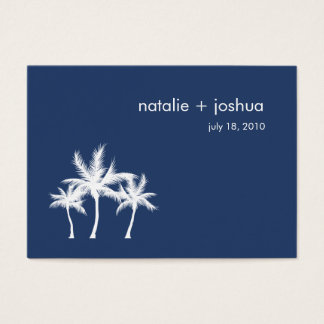 Seaside Dreams Wedding Directions Enclosure Card