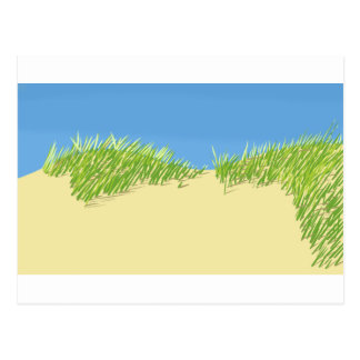 Seaside Dunes Postcard