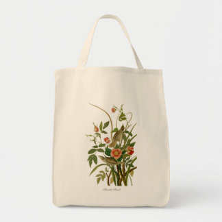 Seaside Finch Tote Bag