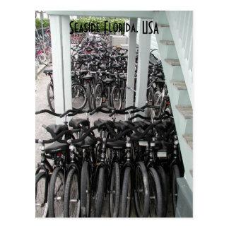 Seaside Florida bicycles Postcard