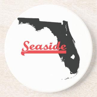 seaside Florida Drink Coaster