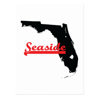 seaside Florida Postcard