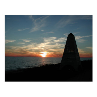 Seaside Florida Sunset Postcard