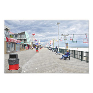 Seaside Heights Boardwalk Photo Print